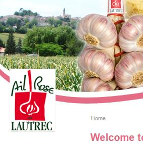Pink garlic's Fair in Lautrec