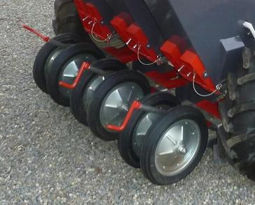 Hard rubber wheels